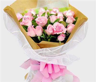99朵粉玫瑰花语