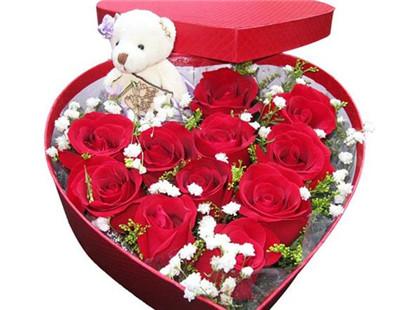 11朵红玫瑰花语