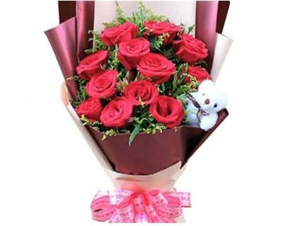 12朵玫瑰花语