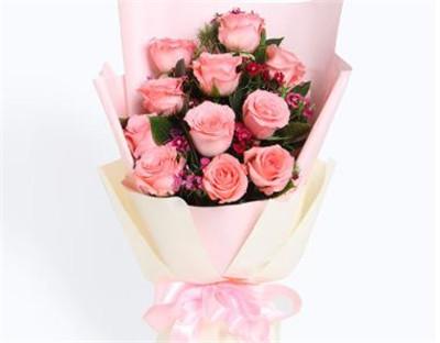 粉色玫瑰的花语